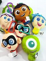 Disney Pixar Mcdonalds Happy Meal Plush Toy key chain NEW