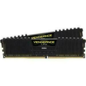 CORSAIR VENGEANCE LPX 16GB (2x8GB) PC4-25600 (DDR4-3200) Memory Kit - Black...