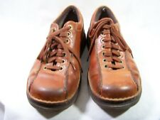 Dr. Martens Men's Shoes Brown Perry Distressed Leather USA 10 M