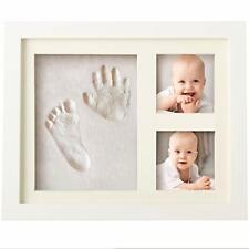 New Baby Handprint Kit Footprint Photo Frame Newborn Unisex Shower Registry Gift