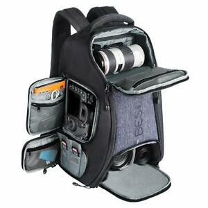 Beschoi Kamerarucksack wasserdicht Fotorucksack für Canon Nikon Sony DSLR Camera