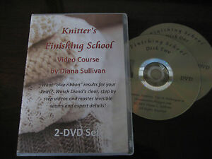 Knitter's Finishing School Video Course by Diana Sullivan