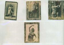 1926-27 N265-10, -X Cuban  Girls 4 different  Oranate Frame
