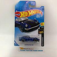 Custom Datsun 240Z #15 * Blue * 2018 Hot Wheels * WK13