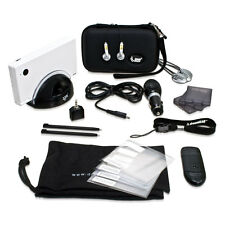 New Black dreamGEAR Nintendo DSi 18 in 1 Starter Kit Case Stylus Charge Dock