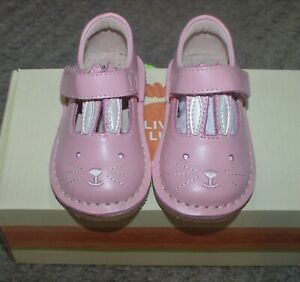 Livie & Luca Pink Molly Bunny Shoes - Size 4 - NIB
