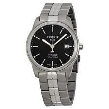 Tissot T049.410.44.051.00 PR100 Titan Quarz Datum Saphirglas Herrenuhr 100m