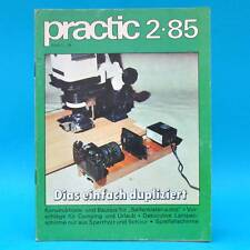 DDR practic 2/1985 Seifenkisten Spielfallschirme Lampenschirme Strickleitern P