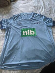 Mens Adidas Blues Super Rugby T-Shirt 3xl XXXL