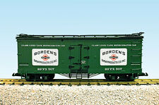 USA Trains G Scale R16020A-D Borden's Milk CHOICE # NEW RELEASE