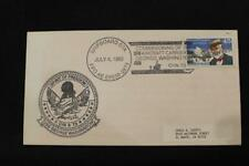 NAVAL COVER 1992 SHIP CANCEL COMMISSIONING USS GEORGE WASHINGTON (CVN-73) (5712)