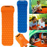 Inflatable Camping Mattress Air Mat Sleeping Pad Hiking Tent Roll Up Bed Mat