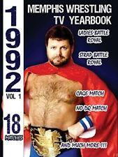 1992 Memphis Wrestling Tv Yearbook 1 [New DVD]
