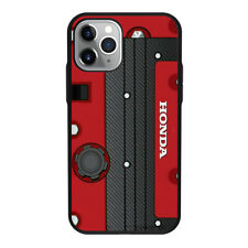 Honda Engine K Series Red For iPhone Samsung hard phone case