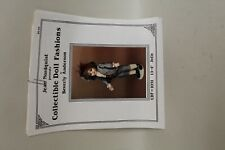 Vtg Doll Patterns JEAN NORDQUIST PRESENTS COLLECTIBLE DOLL FASHIONS Anderson