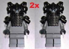 2x BN LEGO Stone soldier minifigure Stone Snake Temple Guardian Statue Ninjago