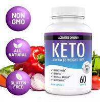 Keto Diet Pills Weight Loss Keto XP Pure Fat Burner Supplement Bhb 60 Count