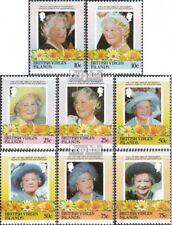 Jungferninseln 519-526 (compleet Kwestie) MNH 1985 Queen Mother Elizabeth