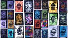 Ethnic Art Poster Tapestry Bohemian Wall Hanging Skull Mandala Cotton Yogo Mat