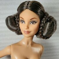 (B25) ~ NUDE BARBIE GOLD LABEL STAR WARS MODEL MUSE PRINCESS LEIA DOLL FOR OOAK
