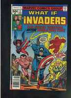 What If # 4 NM Marvel Comics Bronze Age high grade Invaders WWII   CBX1S