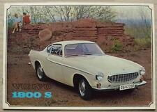 VOLVO 1800S Car Sales Brochure Sept 1964-65 #RK 5042. 9.64. 30,000