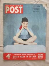 PICTURE POST-11 APRIL 1953- THE HARD LIFE OF A POCKET BALLERINA - BELINDA WRIGHT
