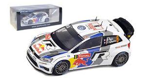 Spark S3359 Volkswagen Polo WRC Monte Carlo 2013 - S Ogier World Champion 1/43