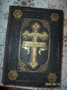 Bibel Originale Illustriete Familien - Bibel  Alter ca 150 Jahre