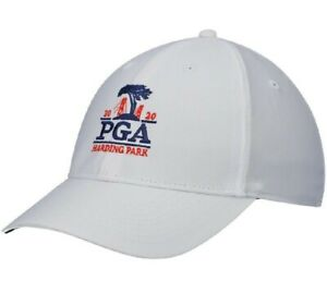 2020 PGA CHAMPIONSHIP (Harding Park) -White- NIKE Performance Tech GOLF HAT
