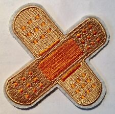Pflaster Aufbügler / Aufnäher medical plaster patch stripe Kinder Bügelbild
