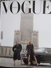 Vogue Poland 1/2018 front Anja Rubik,Malgosia Bela         FIRST POLISH EDITION