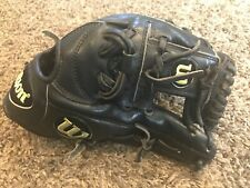 "Wilson A2000 1787 Pro Stock 11.75"" I Web Baseball Glove Black RHT"