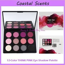 NEW Coastal Scents 12-Color THINK PINK Eye Shadow Palette FREE SHIPPING BNIB