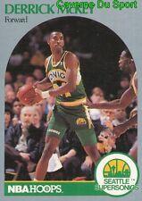281 DERRICK McKEY SEATTLE SUPERSONICS CARD CARTE BASKETBALL NBA HOOPS 1990