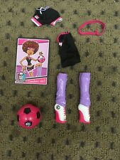 Monster High Clawdeen Wolf Soccer Outfit