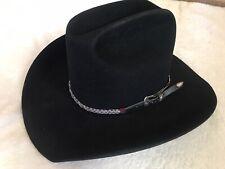 Black Resistol 4x Beaver 7 1/4 Hat