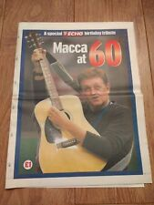 LIVERPOOL ECHO PAUL McCARTNEY 6Oth BIRTHDAY TRIBUTE ( MACCA AT 60 ) JUNE 2002