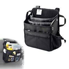 Car Seat Back Bag Multi-Pocket Organizer Storage CUP iPad Phone Holder Black