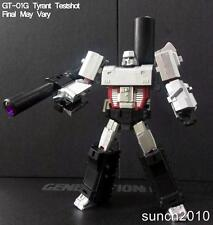 New Generation Toy Transformers GT-01G Tyrant Testshot Megatron Action In Stock