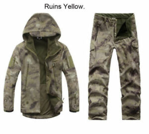 Lurker Shark Soft Shell Military Tactical Jackets hunting Coat Waterproof pants