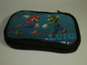Nintendo DS NDS Super Mario Carry Case Console System Game Holder Mario Luigi