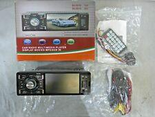 Indash Car Stereo Bluetooth Single 1 Din FM Radio, Car Stereo MP5 Player USB/SD