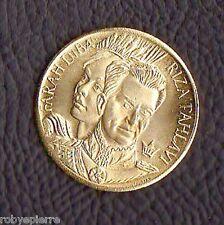 Medaglia commemorativa FARAH DIBA RIZA PAHLAVI scià di Persia Pahlavi REZA Fara