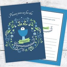 Communion And Confirmation Invitation Cards Ebay