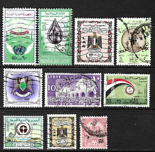 Libya .. A good stamp collection ..  0724