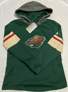 Adidas Minnesota Wild Women's NHL Offsides Hooded Sweatshirt. Womens Size: Large