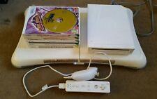 Nintendo wii white games  console bundle