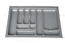 Schubladeneinsatz Besteckeinsatz Schublade zuschneidbar PET 80er 10 Fächer