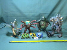 Mixed toy lot #311, Godzilla, Green Dragon, and Monsters